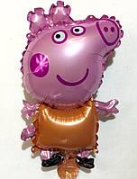 Фольгированный маленький шар Пэппа  (В0309)