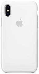 Чехол накладка xCase для iPhone XS Max Silicone Case белый