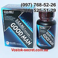 ГудМен, GoodMan - препарат для улучшения потенции и увеличения пениса , 60капсул, фото 1