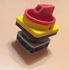 Переключатель ON/OFF двухфазный двухполосный PSA020AK241E / 20А / 230 - 400V для электроплит    EMAS, Турция, фото 3