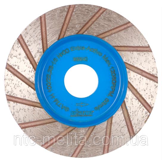 Фреза алмазная сегментная DGM-S 100/22,23-15 №00 Extra-Active