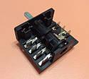 Переключатель шестипозиционный AC405B (AC4) / 16А / 250V / Т150 (контакты внутри 4+3)  JRGESON  Турция , фото 5