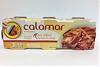 КальмарHacendado en salsa americana3*80 г