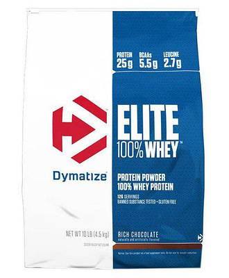 Протеин Dymatize Nutrition 100% Elite Whey Protein (4.5 kg)