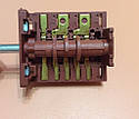Переключатель пятипозиционный AC620A (AC6) / 16А / 250V / Т150 (контакты снаружи 6+6)  JRGESON  Турция, фото 3