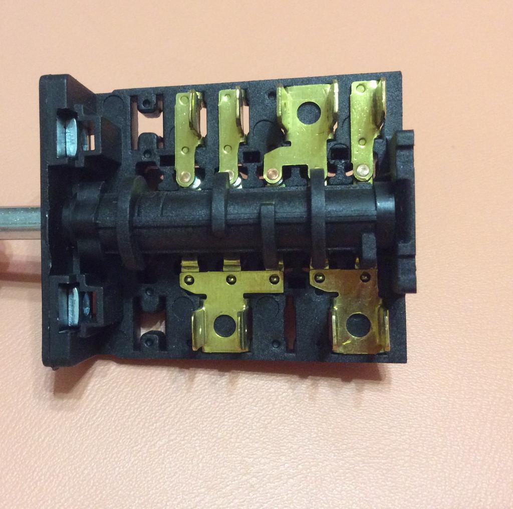 Переключатель пятипозиционный AC655B (AC6) / 16А / 250V / Т150 (контакты внутри 5+4)  JRGESON  Турция