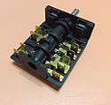 Переключатель пятипозиционный AC655B (AC6) / 16А / 250V / Т150 (контакты внутри 5+4)  JRGESON  Турция , фото 8