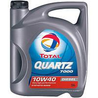 Моторное масло  5л   Total Quartz 7000 Turbo Diesel 10w40