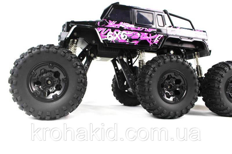 Машина на радиоуправлении  Rock Crawler - 26612B ( Pink )