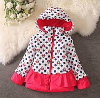 Курточка для девочки на холодную осень
