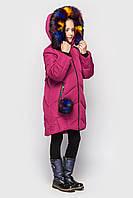 Зимняя куртка для девочки подростка супер качество