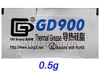 Термопаста GD900 весом 0.5 гр для процессоров ПК и видеокарт, фото 1