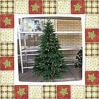 Ель литая зеленая 4D 180 см + подарок, фото 1