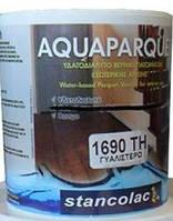 Лак 1690 паркетный полиуретановый на водной основе, глянцевый, Станколак (Stancolac) 2,5 л