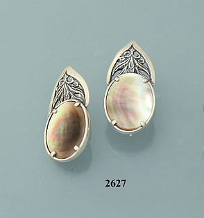 Набор из серебра с перламутром, фото 2
