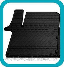 Резиновый водительский коврик в салон Opel Vivaro I 2001-2014 (STINGRAY)