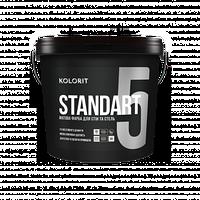 KOLORIT STANDART 5 латексная акрилатная краска А 2,7 л