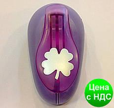 Дырокол фигурный для детского творчества CD-99L №32 Листик