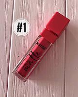 Помада жидкая водостойкая Lip Gloss №1