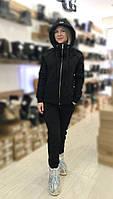 Теплый женский костюм от UGG Australia Zip Merino Black Черный на молнии