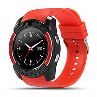 Умные смарт-часы Smart Watch V8 красные, фото 1