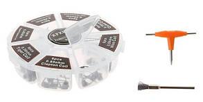 Набор койлов для атомайзеров XFKM  48 штук + отвёртка + щётка