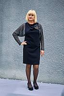 Женское праздничное платье с люрексом