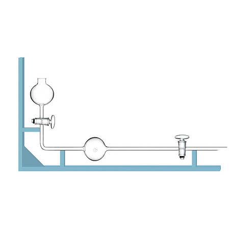 Бюретка специальная для измерения объема газов БСГ 100 мл, стекло, фото 2