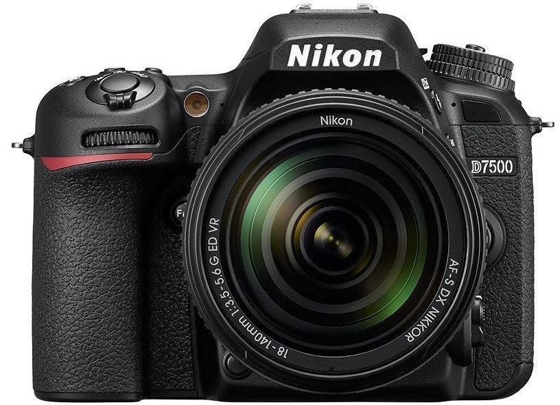 Зеркальный фотоаппарат Nikon D7500 kit 18-140mm VR Гарантия от производителя / на складе