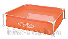 Дитячий каркасний басейн Intex 57171 (122x122x30 див.) (Жовтий), фото 2