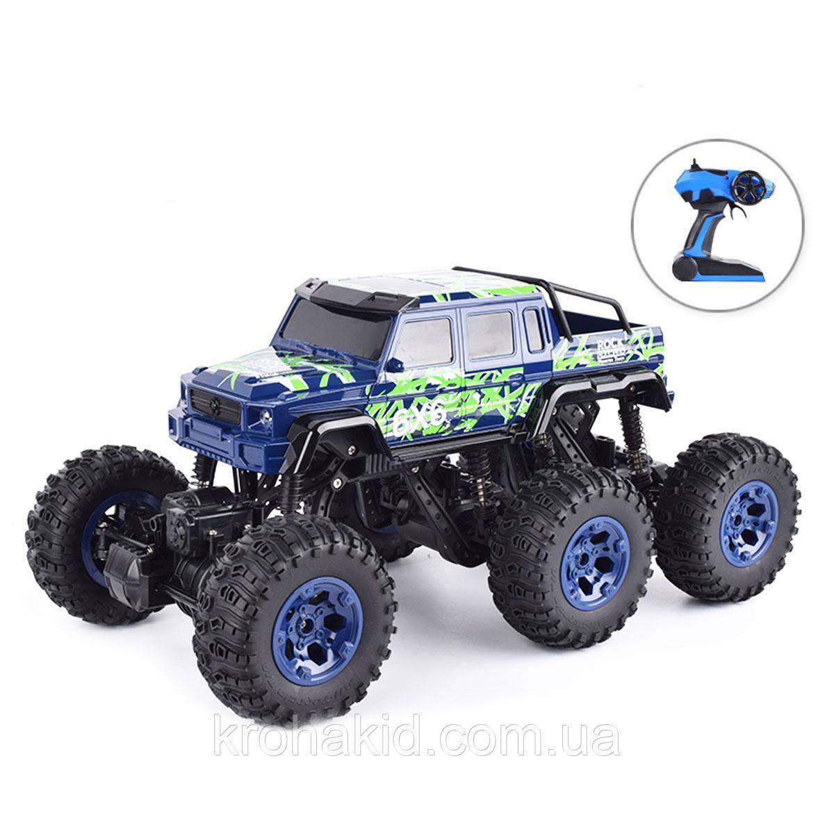 Машина на радіокеруванні Rock Crawler - 26612B ( Blue )