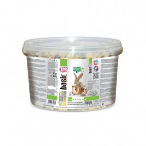 Фруктовый корм для кроликов и грызунов 2 кг Lolo pets