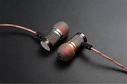 Навушники KZ EDR1 дротові з мікрофоном вкладиші Original