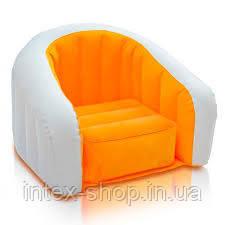 Детское надувное кресло intex 68597  (Оранжевый), фото 2