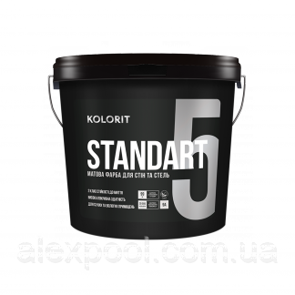 KOLORIT STANDART 5 С 0,9 л латексная акрилатная краска
