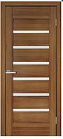 Межкомнатные двери ПВХ Лагуна со стеклом сатин