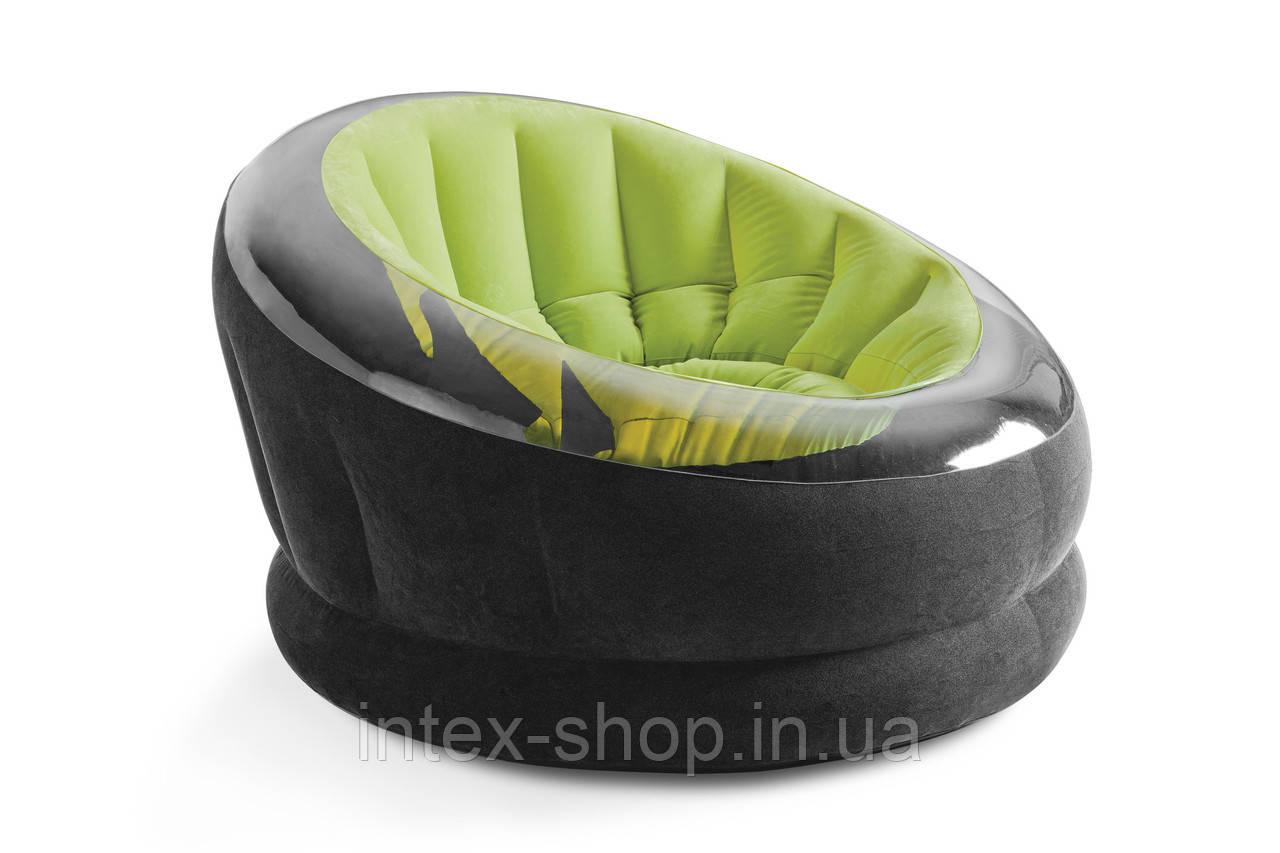 Крісло 112х109х69 см, EMPIRE CHAIR, Intex 68582NP (Зелений)
