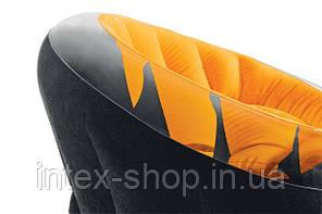 Кресло 112х109х69 см, EMPIRE CHAIR, Intex 68582NP (Розовый), фото 2