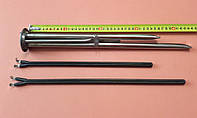 Фланец-колба (нержавейка) Ø63мм + сухие тэны 800W и 1200W для бойлеров Thermex, ATT, Garanterm