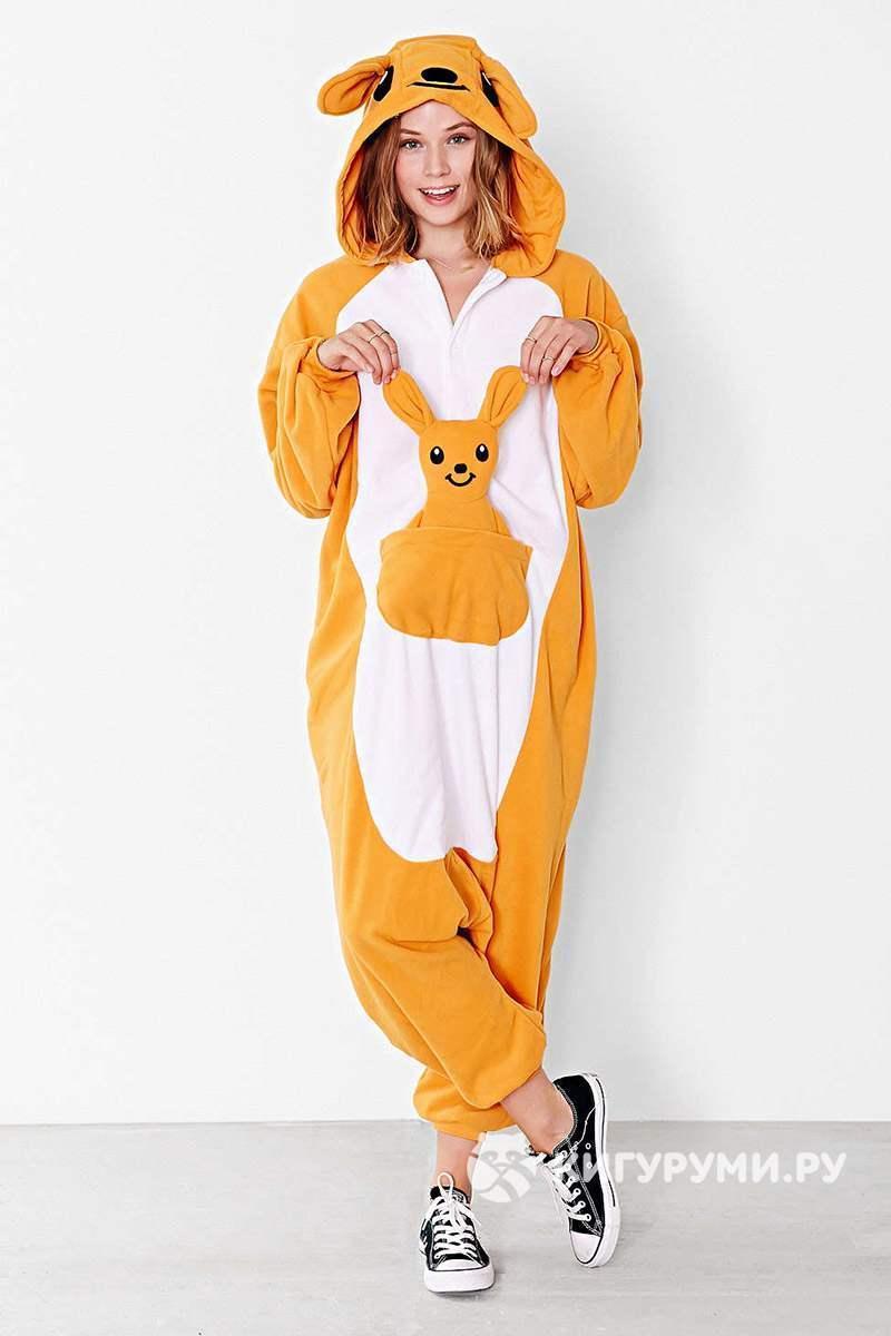 Женская пижама кигуруми кенгуру взрослая k0050 - Интернет-магазин Tailor в  Харькове bbf2e02829761