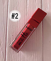 Помада жидкая водостойкая Lip Gloss №2
