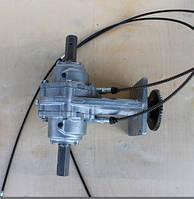 Редуктор на мотоблок WM1100 с разблокировкой осей и тросами