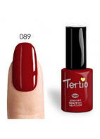 Гель-лак Tertio №89 красно-коричневый 10 мл