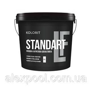 KOLORIT STANDART LF 17 л Финишная акриловая шпаклёвка 17 л