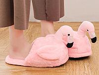Тапочки-игрушки Фламинго
