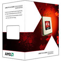Процессор AMD (AM3+) FX-4300, Box, 4x3,8 GHz (Turbo Boost 4,0 GHz), L3 4Mb, Vishera