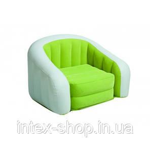 Надувное кресло Intex Cafe Club Chair 97x76x69 ИНТЕКС 68571 (Розовый), фото 2