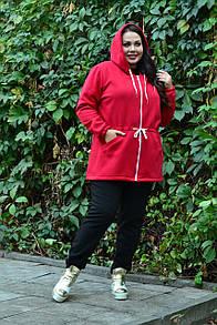 Женский утепленный спортивный костюм в больших размерах 10ba1088