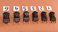 Кнопки для включения разных режимов в газовых плитах / черные, фото 2