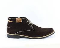 2d5c9c2b8e218f Promo Замшеві зимові черевики коричневого кольору - стильне і комфортне  взуття!